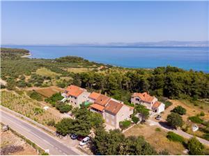 Apartmány Jakov Mirca - ostrov Brac, Rozloha 65,00 m2