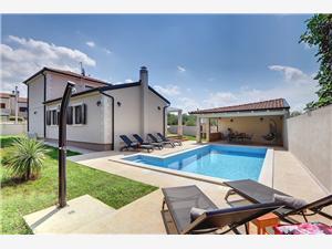 Villa Bellissima Porec, квадратура 138,00 m2, размещение с бассейном