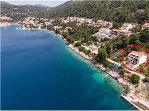 Apartamenty Marija Wyspy Dalmacji południowej, Powierzchnia 90,00 m2, Odległość do morze mierzona drogą powietrzną wynosi 50 m, Odległość od centrum miasta, przez powietrze jest mierzona 500 m