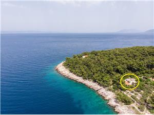 Апартамент Dijana Oстрова Южной Далмации, квадратура 40,00 m2, Воздуха удалённость от моря 30 m