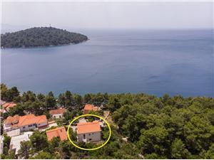 Apartmány Marjan Južnodalmatínske ostrovy, Rozloha 40,00 m2, Vzdušná vzdialenosť od mora 50 m, Vzdušná vzdialenosť od centra miesta 300 m