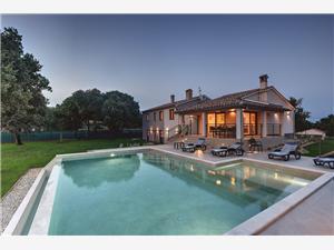 Villa Monte Uliveto Pula, Kvadratura 140,00 m2, Smještaj s bazenom