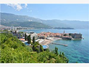 Apartmani Ivanović Crnogorsko primorje, Kvadratura 36,00 m2, Zračna udaljenost od centra mjesta 400 m