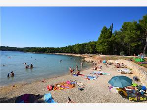 Ferienwohnungen Luciana Rovinj, Größe 53,00 m2, Entfernung vom Ortszentrum (Luftlinie) 500 m