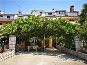 Apartmány Alida Modrá Istrie, Prostor 62,00 m2, Vzdušní vzdálenost od centra místa 800 m