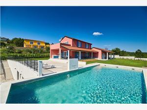Villa Cali Motovun, Prostor 320,00 m2, Soukromé ubytování s bazénem