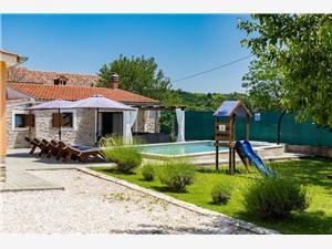 Villa Zvane Zminj, Größe 165,00 m2, Privatunterkunft mit Pool