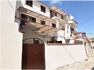 Appartementen Vladimir Primosten, Kwadratuur 50,00 m2, Lucht afstand tot de zee 200 m, Lucht afstand naar het centrum 150 m