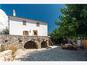 House Nadia Dobrinj - island Krk, Stone house, Size 230.00 m2, Accommodation with pool