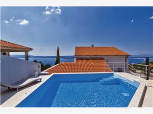 Apartmaji Manoy Crikvenica, Kvadratura 27,00 m2, Namestitev z bazenom