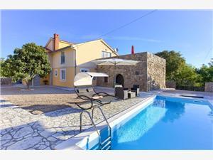 Villa Vrh Krk - Insel Krk, Größe 140,00 m2, Privatunterkunft mit Pool
