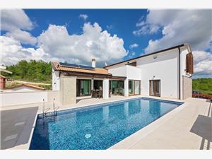 Villa Mala Halu Mandalenčići, Kvadratura 280,00 m2, Namestitev z bazenom