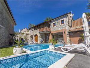 Vila ZEN Tribalj, Prostor 130,00 m2, Soukromé ubytování s bazénem