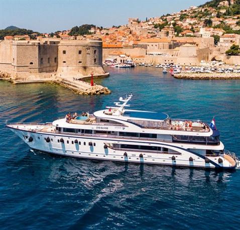Speciální výhody plavby lodí Chorvatsko