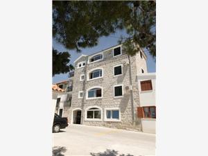 Chambre Solar Beach Inn Stobrec, Superficie 20,00 m2, Distance (vol d'oiseau) jusque la mer 75 m, Distance (vol d'oiseau) jusqu'au centre ville 250 m