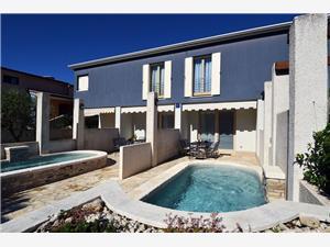 Villa Blue Banjole, Kvadratura 166,00 m2, Smještaj s bazenom