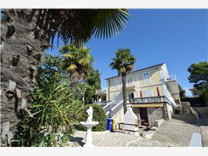 Apartmány Margarita Kvarner, Rozloha 20,00 m2, Vzdušná vzdialenosť od mora 10 m, Vzdušná vzdialenosť od centra miesta 300 m