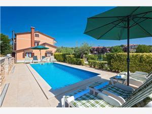 House Parenzana Vizinada (Porec), Kwadratuur 200,00 m2, Accommodatie met zwembad