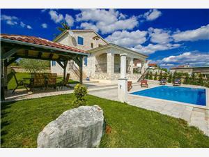 Villa Gordana Kastelir, Storlek 162,00 m2, Privat boende med pool