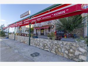 Apartmány Komin Stomorska - ostrov Solta, Rozloha 20,00 m2, Vzdušná vzdialenosť od centra miesta 20 m