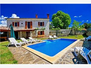 Villa David L'Istria Verde, Dimensioni 120,00 m2, Alloggi con piscina