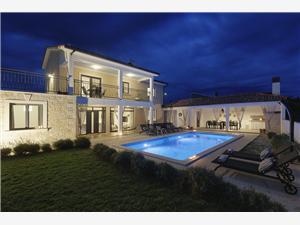 Villa Danica Porec, квадратура 190,00 m2, размещение с бассейном