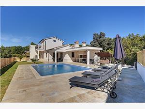 Villa Vanda Labin, Size 170.00 m2, Accommodation with pool