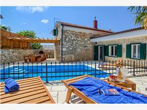 Kuća za odmor Villa Kiry Bribir, Kamena kuća, Kvadratura 140,00 m2, Smještaj s bazenom