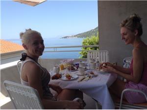 Accommodatie aan zee Makarska Riviera,Reserveren Leut Vanaf 105 €