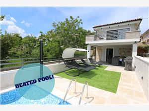 Haus Anika Silo - Insel Krk, Größe 50,00 m2, Privatunterkunft mit Pool, Luftlinie bis zum Meer 100 m