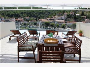 Apartmani Ivan Zaton Zaton (Sibenik), Kvadratura 50,00 m2, Zračna udaljenost od centra mjesta 10 m