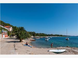 Ferienwohnungen LUCY Kuciste, Größe 60,00 m2, Luftlinie bis zum Meer 10 m