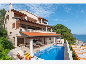 Vila Vanda Blato, Rozloha 327,00 m2, Ubytovanie sbazénom, Vzdušná vzdialenosť od mora 10 m