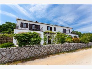 Appartements Nada Vrbnik - île de Krk, Superficie 30,00 m2, Distance (vol d'oiseau) jusqu'au centre ville 500 m
