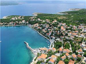 Boende vid strandkanten Devčić Soline - ön Krk,Boka Boende vid strandkanten Devčić Från 1050 SEK