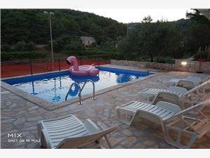 Kuća za odmor House Slivje Selca, Kvadratura 60,00 m2, Smještaj s bazenom, Zračna udaljenost od centra mjesta 775 m
