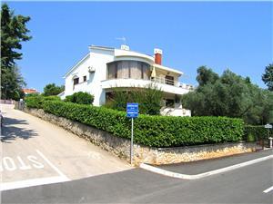 Apartmaji VINKO Krk - otok Krk, Kvadratura 35,00 m2, Oddaljenost od morja 100 m, Oddaljenost od centra 500 m