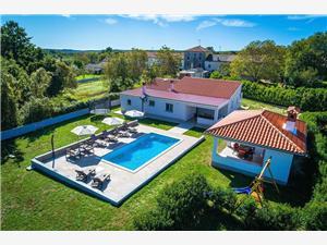 Casetta Filip Krnica (Pula), Kwadratuur 200,00 m2, Accommodatie met zwembad