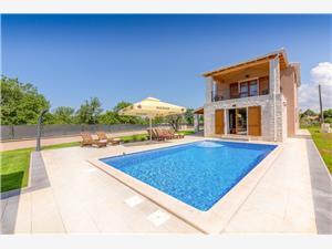 Villa Melani Poreč, Kvadratura 170,00 m2, Smještaj s bazenom