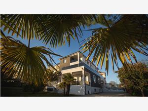 Kamers Residence Vaal Blauw Istrië, Kwadratuur 21,00 m2
