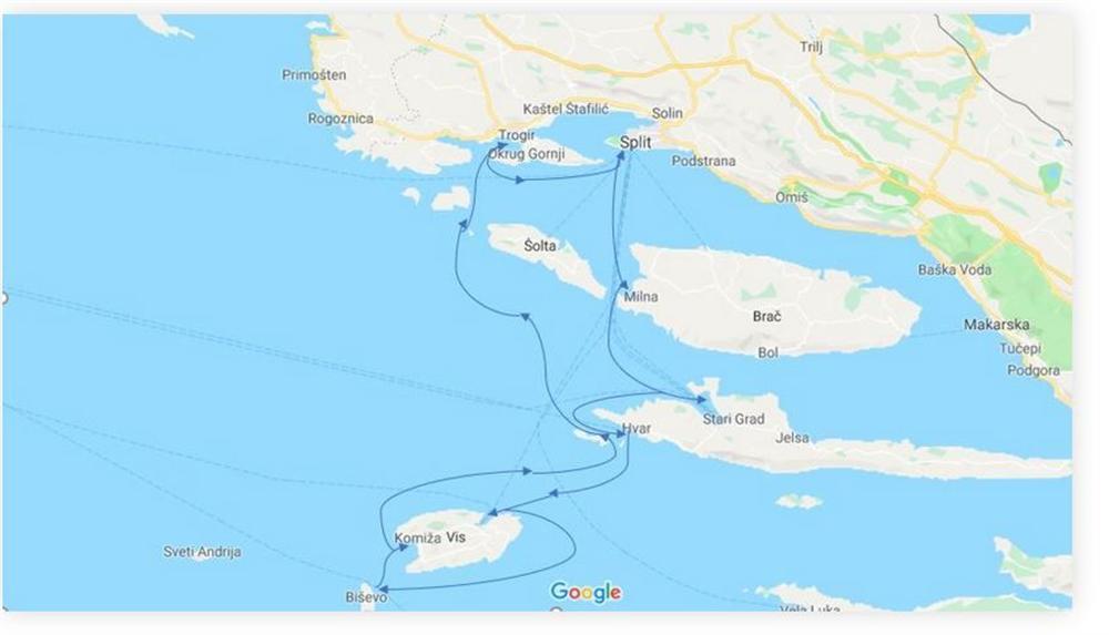 Sailing-ruta-ST-ST-SOUTH-Dalmatian-Sailing-Paradise