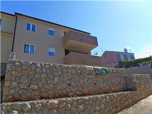 Ferienwohnung Nevena Omisalj - Insel Krk, Größe 70,00 m2, Entfernung vom Ortszentrum (Luftlinie) 150 m