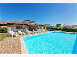 Villa Ciano Visnjan (Porec), Prostor 135,00 m2, Soukromé ubytování s bazénem