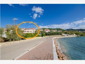 Apartmani Marijana Banjol - otok Rab, Kvadratura 55,00 m2, Zračna udaljenost od mora 50 m