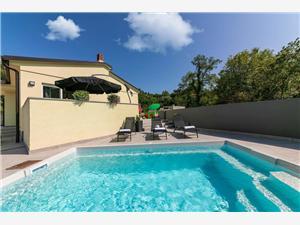 Casa Soleil Rakalj, Prostor 60,00 m2, Soukromé ubytování s bazénem