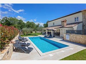 Villa Lori Nova Vas (Poreč), Kvadratura 150,00 m2, Smještaj s bazenom