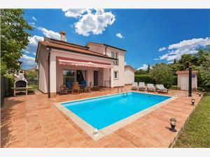 Villa Daniela Nova Vas (Poreč), Kvadratura 113,00 m2, Smještaj s bazenom