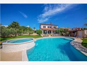 Villa David Porec Spadici, Prostor 220,00 m2, Soukromé ubytování s bazénem