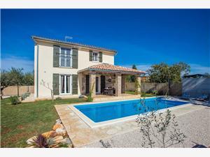 Villa Mala Novigrad, Superficie 100,00 m2, Hébergement avec piscine