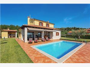 Villa Fontanella Visnjan (Porec), Größe 135,00 m2, Privatunterkunft mit Pool